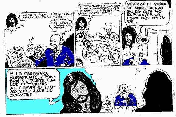 comic sobre la segunda venida de Jesucristo basado en Mateo 24